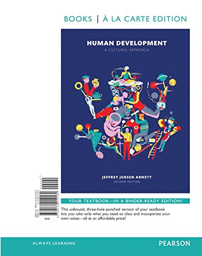 9780134138374: Human Development: A Cultural Approach