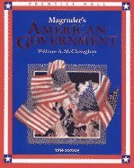 Magruder's American Government 1996: William A. McClenaghan