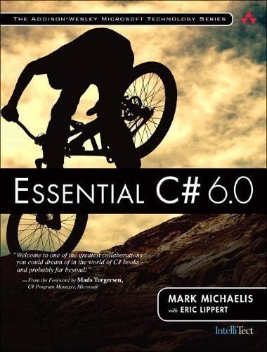 9780134141046: Essential C# 6.0 (Addison Wesley Microsoft Techn)
