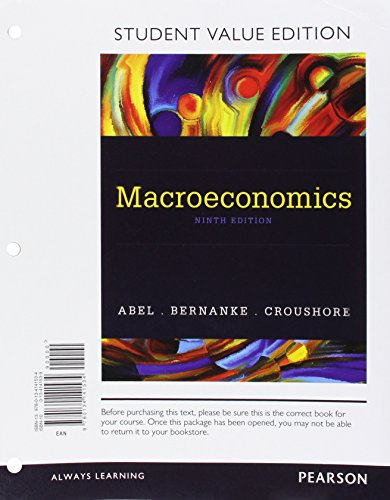 9780134141534: Macroeconomics, Student Value Edition (9th Edition)