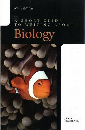 9780134143736: Short Guide to Writing About Biology, A (Valuepack Item Only)