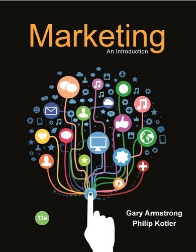 9780134149530: Marketing: An Introduction (13th Edition)