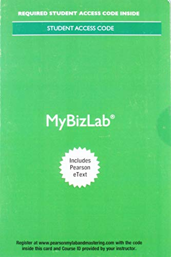 9780134150772: MyLab Intro to Business with Pearson eText -- Access Card -- for Business in Action