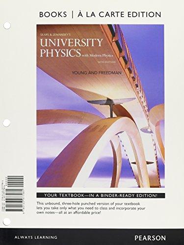 University Physics with Modern Physics, Books Edition; Modified -- (14th Editi