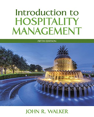9780134151908: Introduction to Hospitality Management (5th Edition)