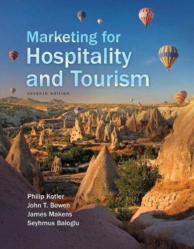 9780134151922: Marketing for Hospitality and Tourism (7th Edition)