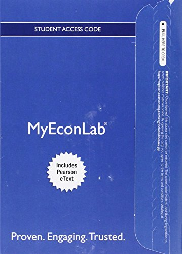 9780134153926: MyEconLab with Pearson eText -- Access Card -- for Microeconomics: Theory and Applications with Calculus