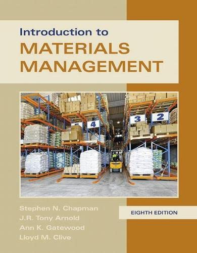 9780134156323: Introduction to Materials Management (8th Edition)