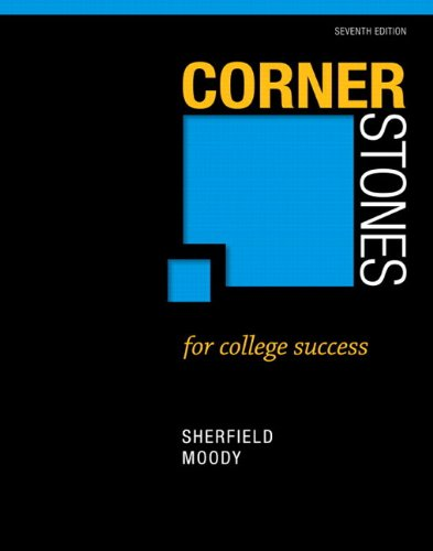 9780134156330: Cornerstones for College Success Plus NEW MyStudentSuccess Lab with Pearson eText -- Access Card Package (7th Edition) (Cornerstones Franchise)