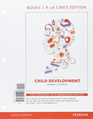 9780134157160: Child Development, Books a la Carte Plus NEW MyLab Psychology with Pearson eText -- Access Card Package (7th Edition)