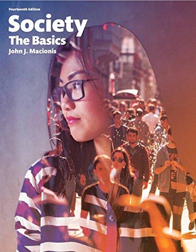 9780134158020: Society: The Basics, Books a la Carte Edition (14th Edition)