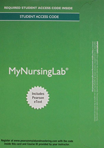 9780134160924: MyNursingLab with Pearson eText -- Access Card -- for Pharmacology: Connections to Nursing Practice