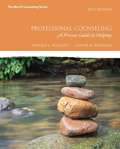 9780134165776: The Professional Counseling: A Process Guide to Helping