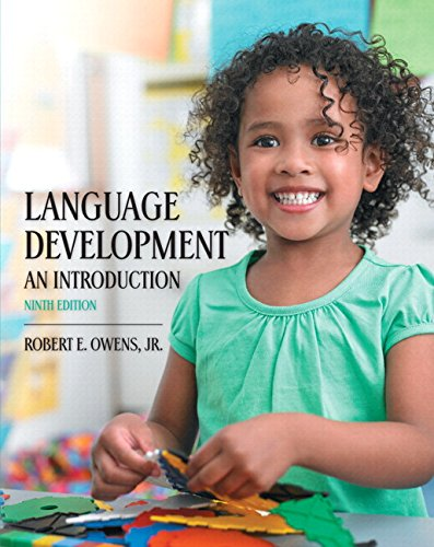 9780134166957: Language Development: An Introduction, Enhanced Pearson Etext with Loose-Leaf Version -- Access Card Package