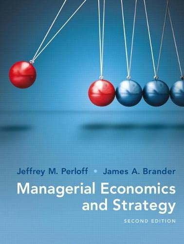 9780134167879: Managerial Economics and Strategy (2nd Edition) (The Pearson Series in Economics)