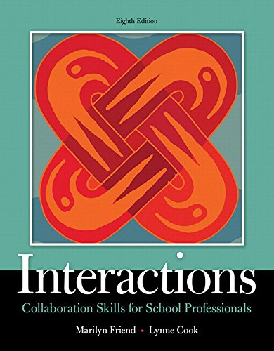9780134168548: Interactions: Collaboration Skills for School Professionals, Enhanced Pearson eText with Loose-Leaf Version - Access Code Package (8th Edition) (What's New in Special Education)