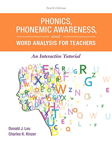 9780134169781: Phonics, Phonemic Awareness, and Word Analysis for Teachers: An Interactive Tutorial (10th Edition) (What's New in Literacy)