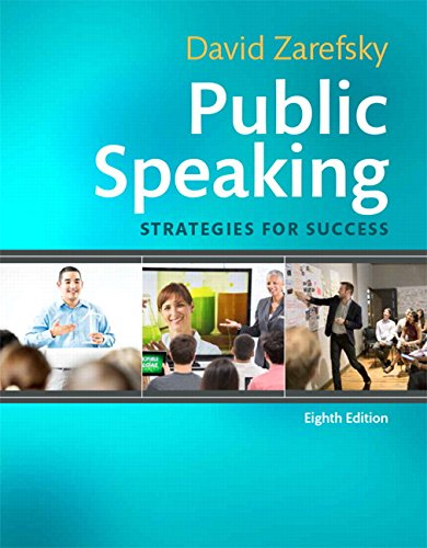 9780134169880: Public Speaking: Strategies for Success (8th Edition)