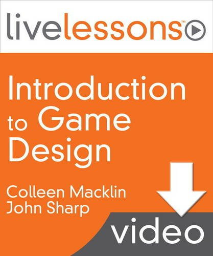 9780134171869: Introduction to Game Design LiveLessons Access Code Card
