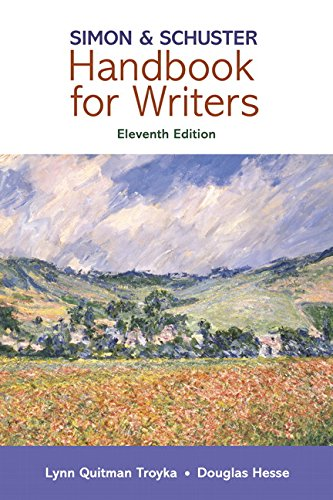 9780134172828: Simon & Schuster Handbook for Writers (11th Edition)