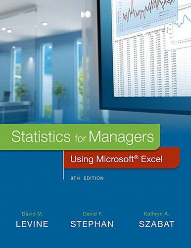 9780134173054: Statistics for Managers Using Microsoft Excel (8th Edition)