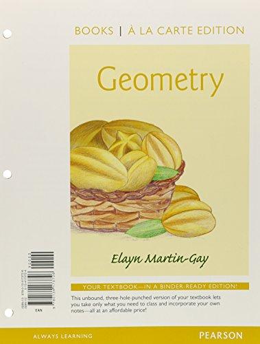 9780134173726: Geometry, Books a la Carte Edition