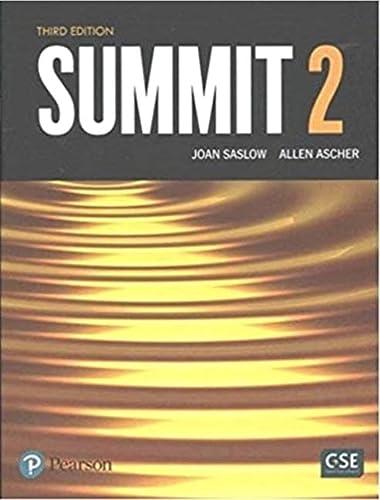 9780134176888: Saslow:Summit 2 Student Book_3