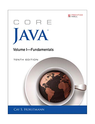 9780134177304: Core Java Volume I--Fundamentals (10th Edition) (Core Series)