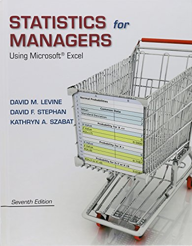9780134178028: Statistics for Managers Using Microsoft Excel Plus New Mystatlab and Phstat with Pearson Etext -- Access Card Package