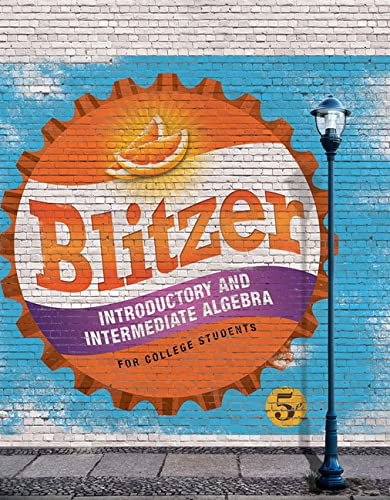 9780134178141: Introductory and Intermediate Algebra for College Students (5th Edition)