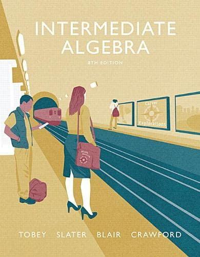 9780134178967: Intermediate Algebra (8th Edition)