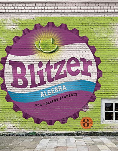 9780134180847: Algebra for College Students (8th Edition)