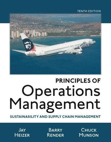 9780134181981: Principles of Operations Management: Sustainability and Supply Chain Management (10th Edition)