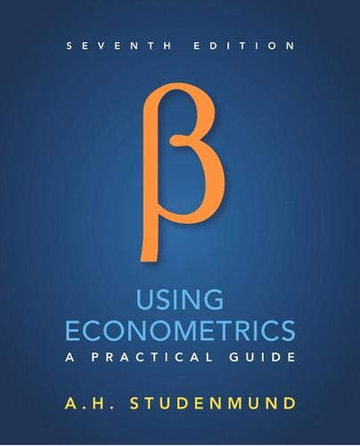 9780134182742: Using Econometrics: A Practical Guide