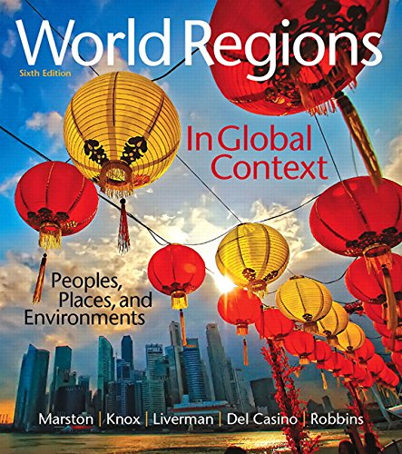 9780134183640: World Regions in Global Context: Peoples, Places, and Environments