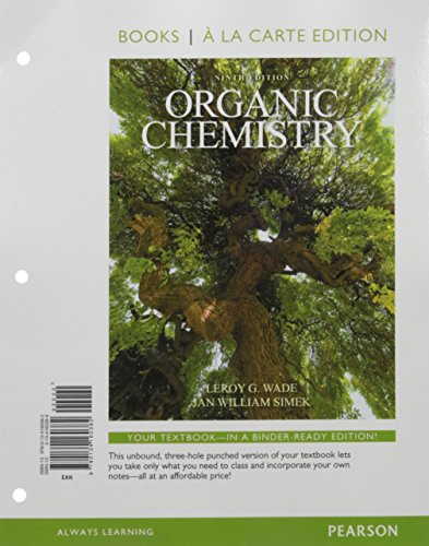 Organic Chemistry, Books a la Carte Plus MasteringChemistry with Pearson eText -- Access Card ...