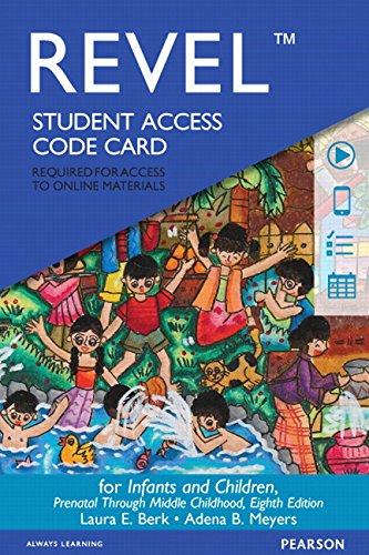 REVEL -- Access Card -- for Infants: Berk, Laura E.^Meyers,