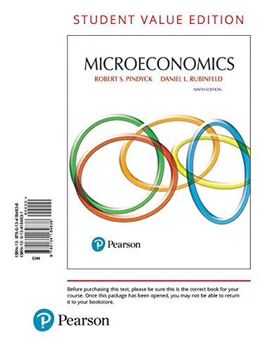 9780134184838: Microeconomics