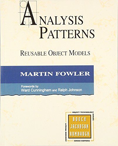 9780134186054: Analysis Patterns: Reusable Object Models