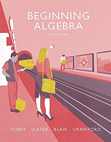 9780134187792: Beginning Algebra (9th Edition)