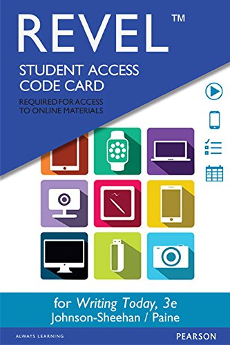 9780134188256: REVEL for Writing Today -- Access Card (3rd Edition)