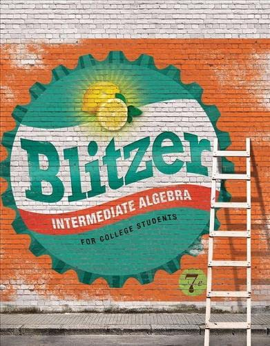 Intermediate Algebra for College Students Access Card Package (7th Edition) (Blitzer Developmental ...