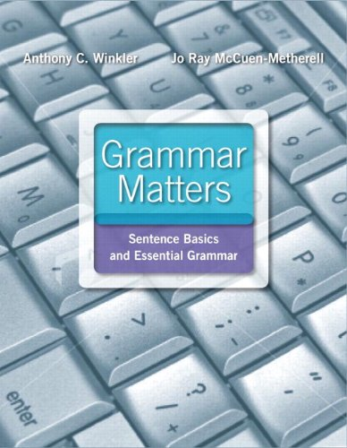 9780134189765: Grammar Matters Plus MyLab Writing with Pearson eText - Access Card Package