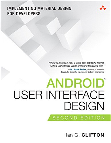 9780134191409: Android User Interface Design: Implementing Material Design for Developers (Addison-Wesley Usability and HCI Series)
