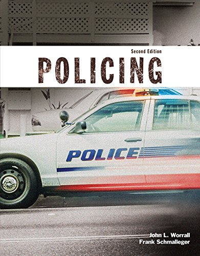 9780134192345: Policing (Justice Series) Plus MyCJLab with Pearson eText -- Access Code Card (2nd Edition)