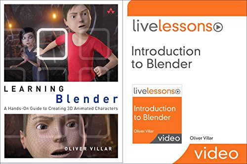 9780134193250: Learning Blender (Book) and Introduction to Blender Livelessons (Video Training) Bundle (Game Design)