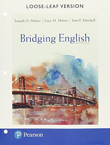 Bridging English, Pearson Etext with Loose-Leaf Version -- Access Card Package (Hardcover): Joseph ...