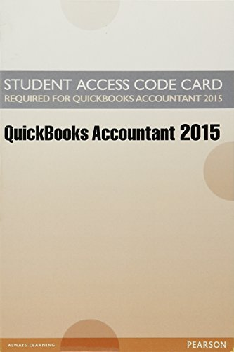 9780134201733: Access Card for Intuit QuickBooks 2015