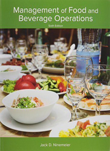 9780134201849: Management of Food and Beverage Operations (AHLEI) (6th Edition)