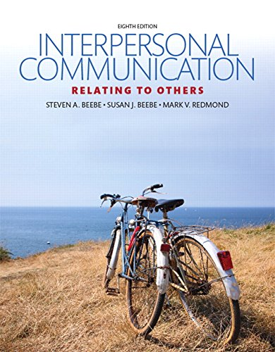 9780134202037: Interpersonal Communication: Relating to Others (8th Edition)